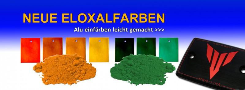 farbig eloxieren
