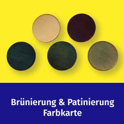 Brünieren und Patinieren - Farbübersicht