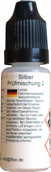 silber test prüfmischung 2 gold-analytix detect silver