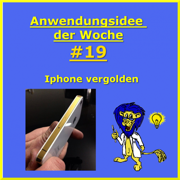 Iphone-vergolden