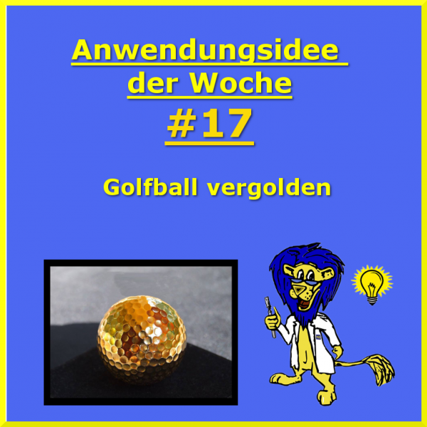 Golfball-vergolden