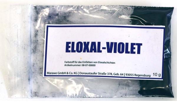 eloxal violet anodize color