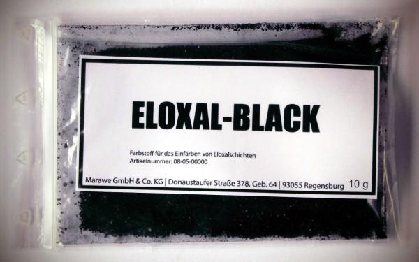 eloxal schwarz