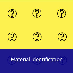 Infomaterial-material-identification